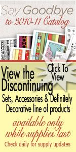 Stampin' Up! discontinuing products